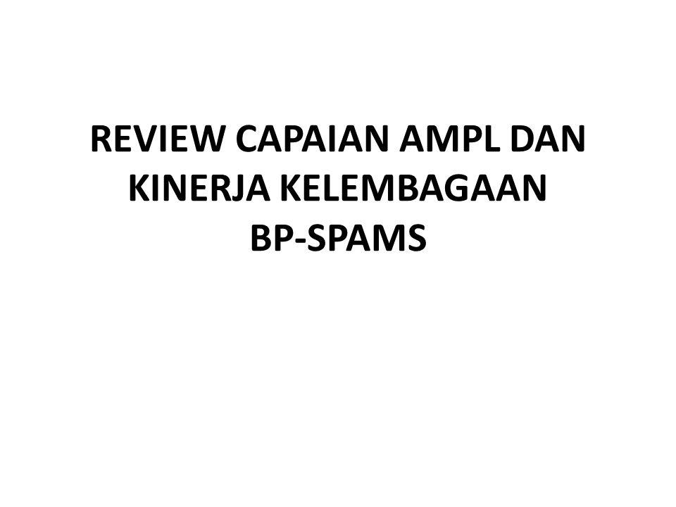 REVIEW CAPAIAN AMPL DAN KINERJA KELEMBAGAAN BP-SPAMS