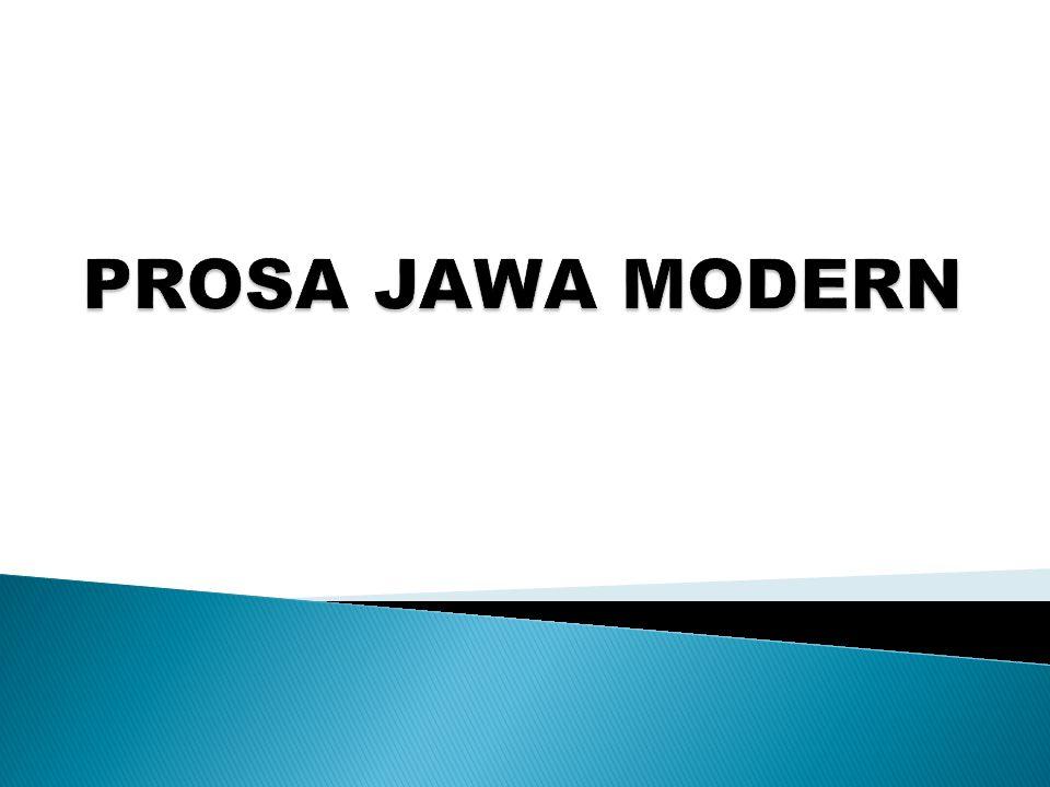 PROSA JAWA MODERN
