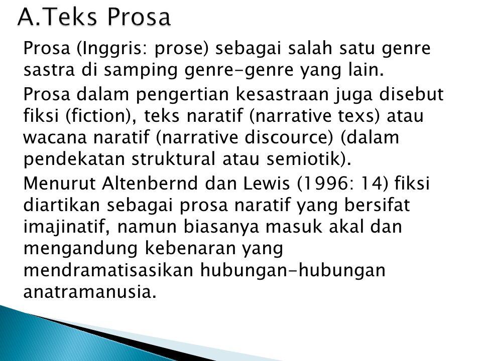 A.Teks Prosa