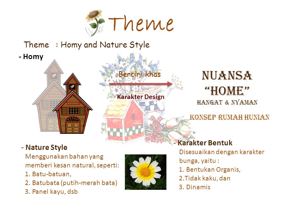 Theme NUANSA HOME Theme : Homy and Nature Style - Homy