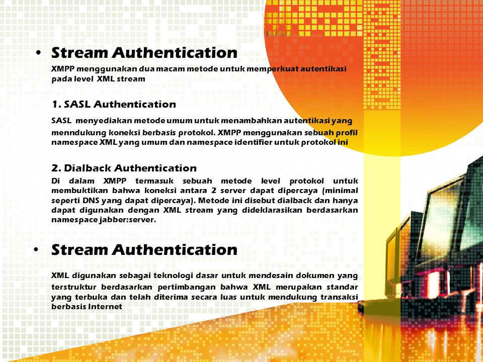 Stream Authentication