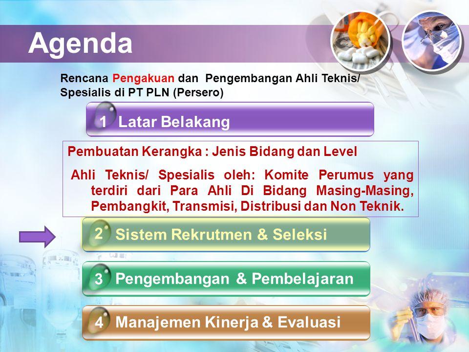 Agenda 1 Latar Belakang 2 Sistem Rekrutmen & Seleksi 3