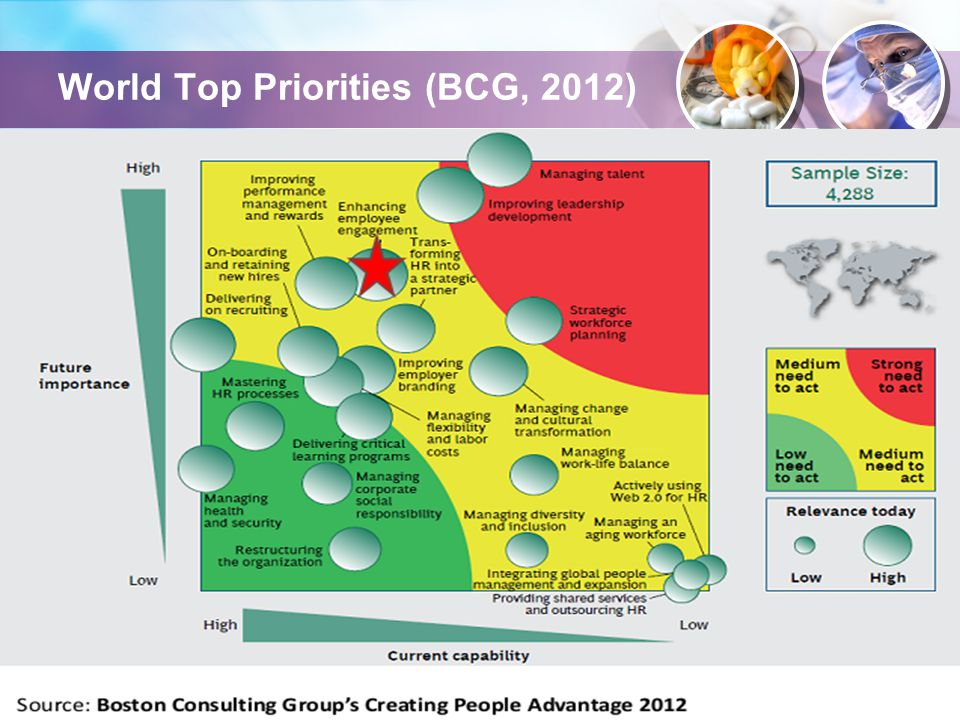 World Top Priorities (BCG, 2012)