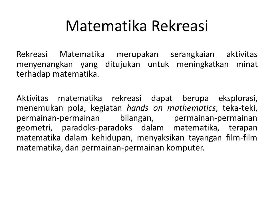 Matematika Rekreasi