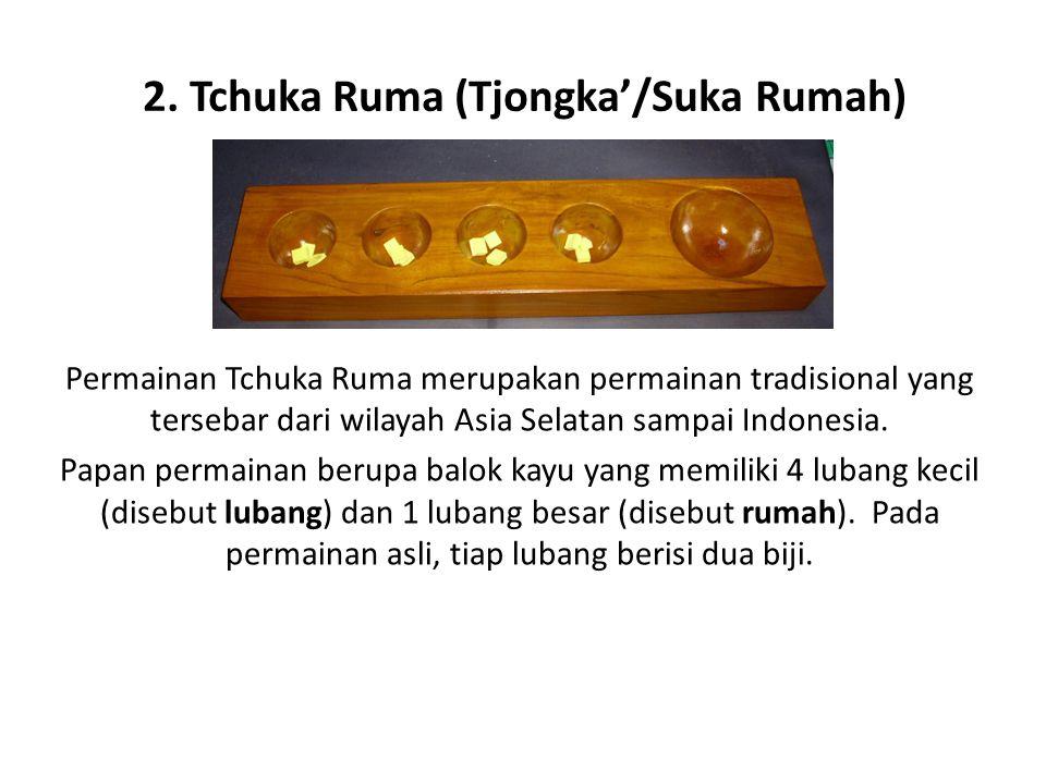 2. Tchuka Ruma (Tjongka'/Suka Rumah)