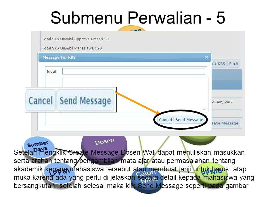 Submenu Perwalian - 5