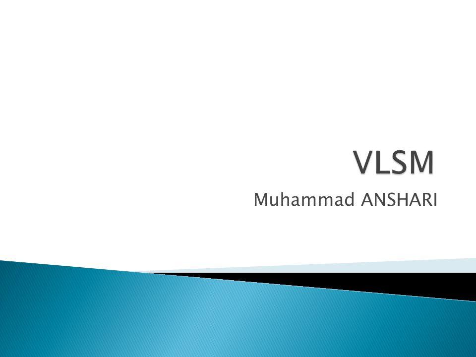 VLSM Muhammad ANSHARI