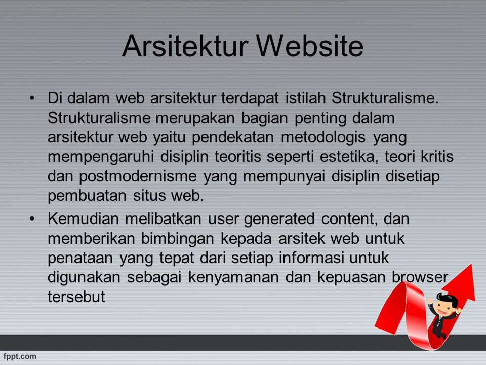 Arsitektur Website