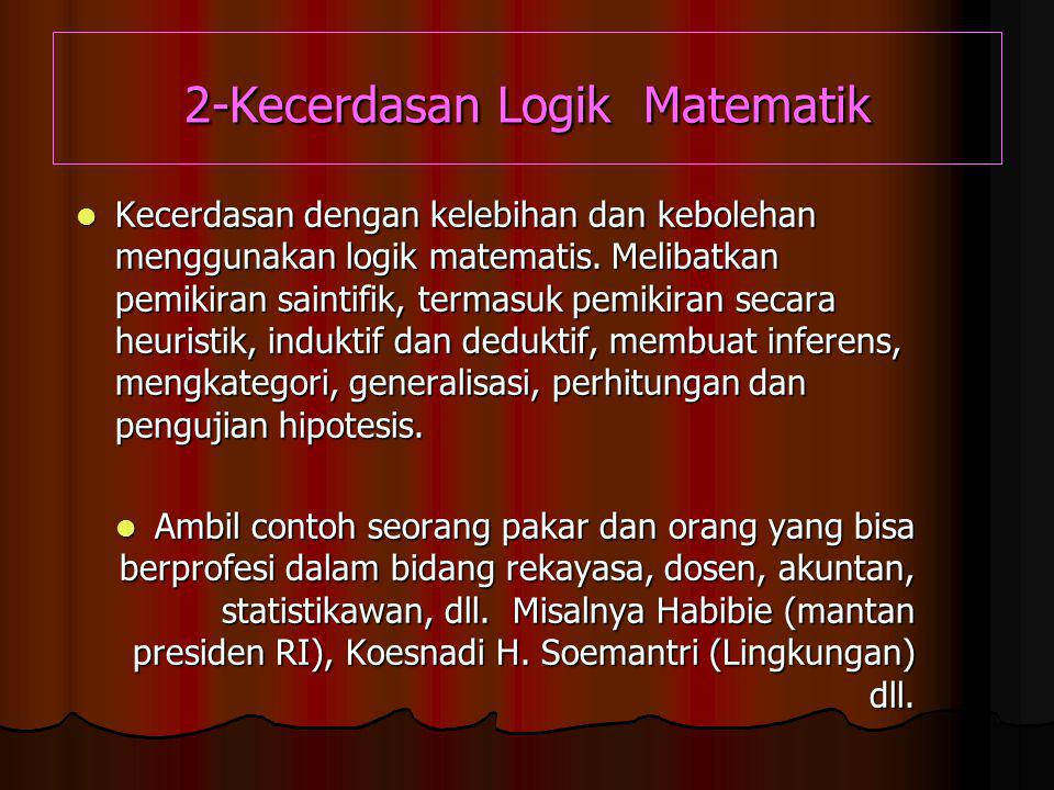 2-Kecerdasan Logik Matematik