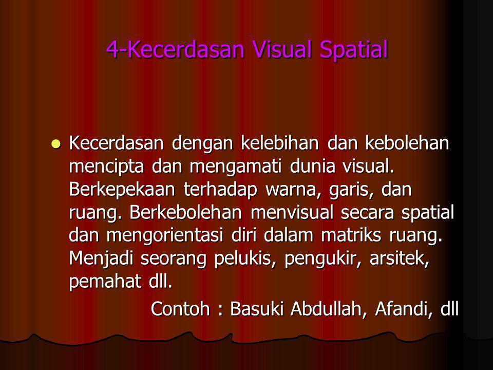 4-Kecerdasan Visual Spatial