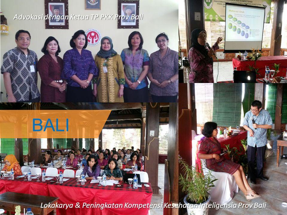 BALI Advokasi dengan Ketua TP PKK Prov Bali