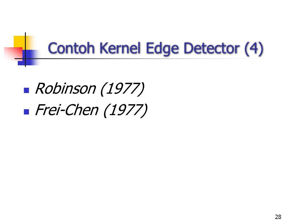 Contoh Kernel Edge Detector (4)