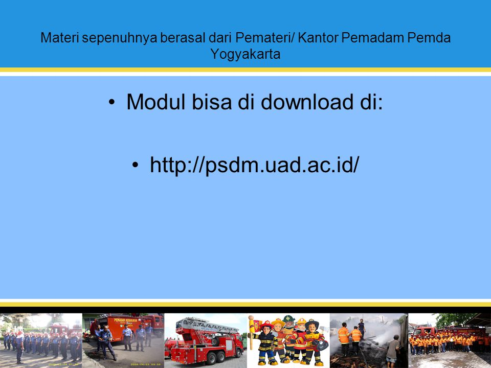 Modul bisa di download di: