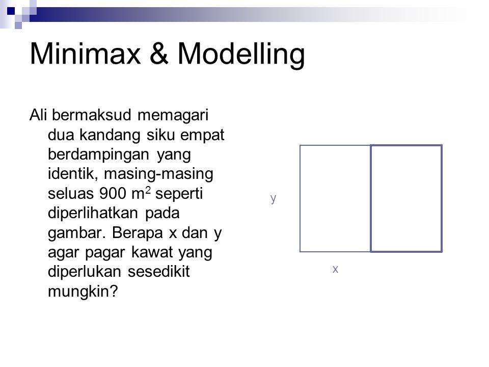 Minimax & Modelling