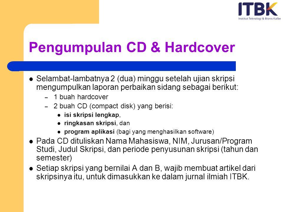 Pengumpulan CD & Hardcover
