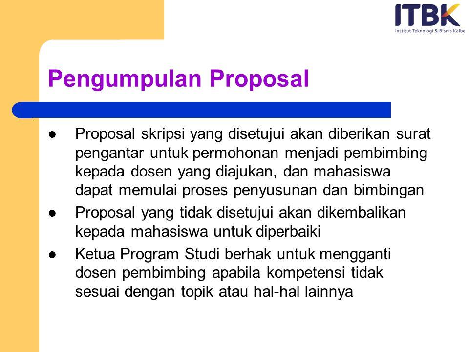 Pengumpulan Proposal