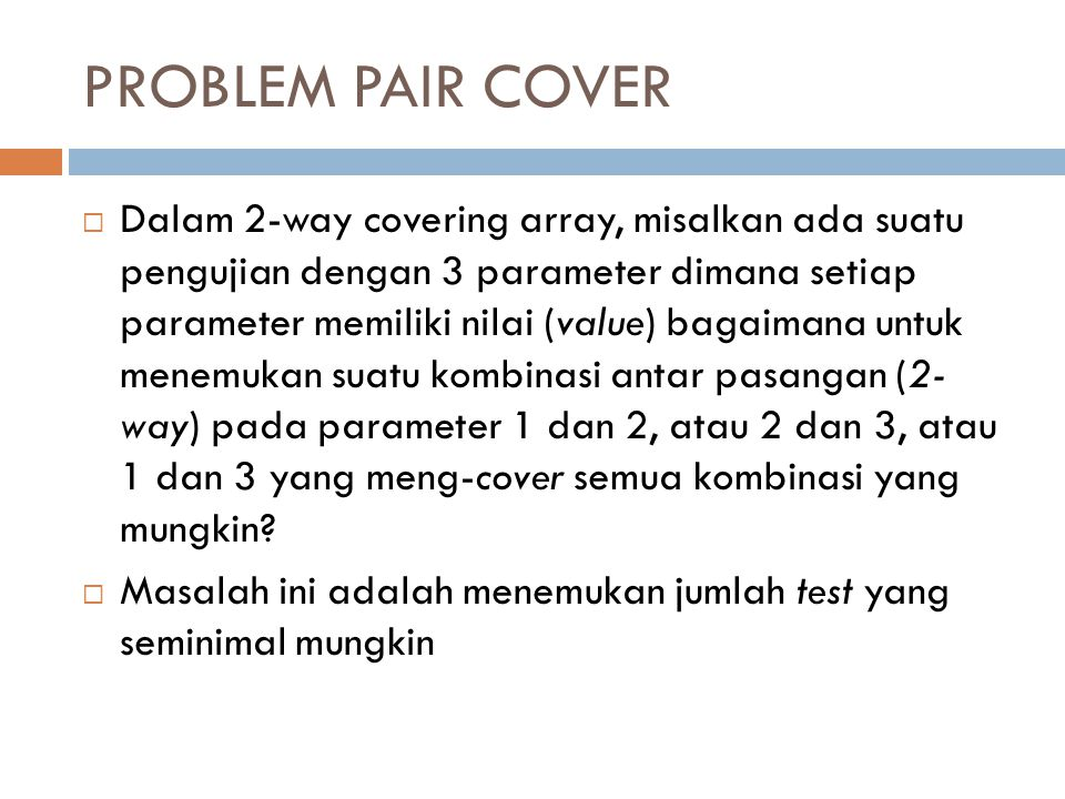 PROBLEM PAIR COVER