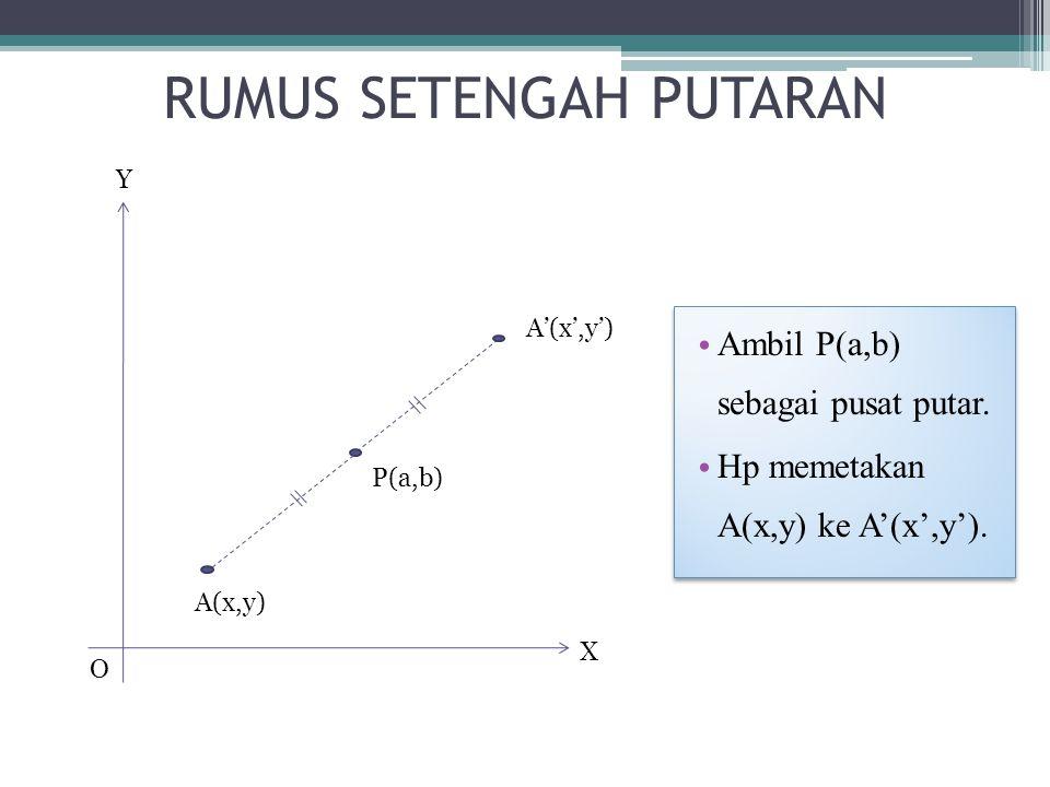 RUMUS SETENGAH PUTARAN