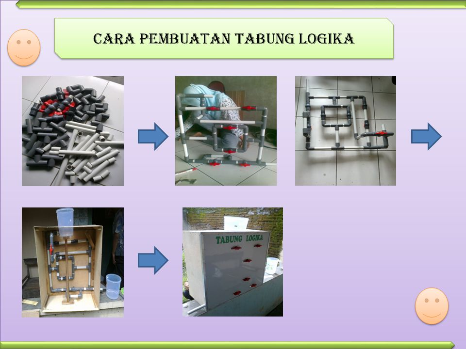 Cara pembuatan tabung logika