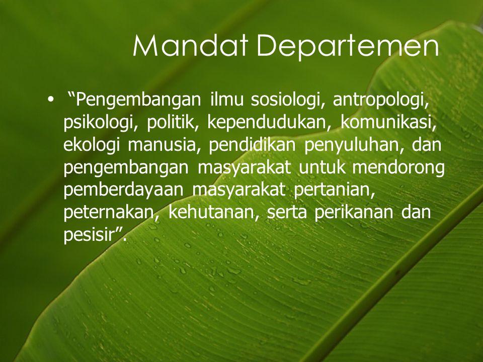 Mandat Departemen