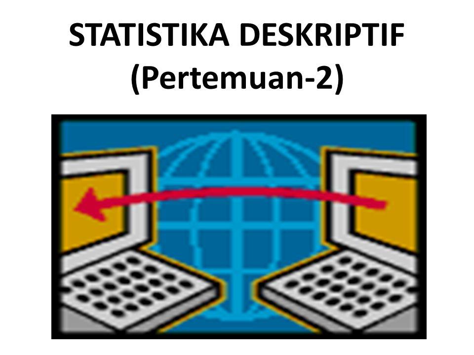 STATISTIKA DESKRIPTIF (Pertemuan-2)