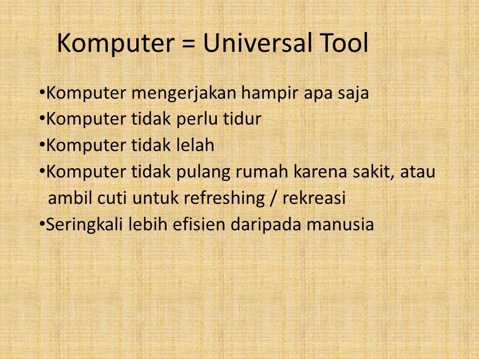Komputer = Universal Tool