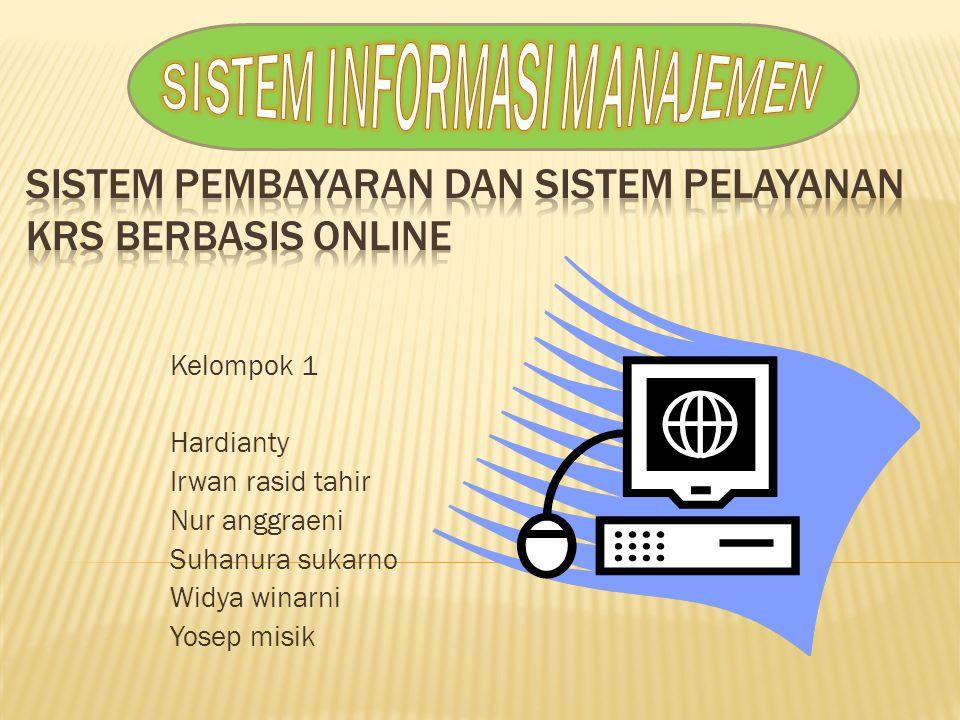 Sistem pembayaran dan sistem pelayanan KRS berbasis online