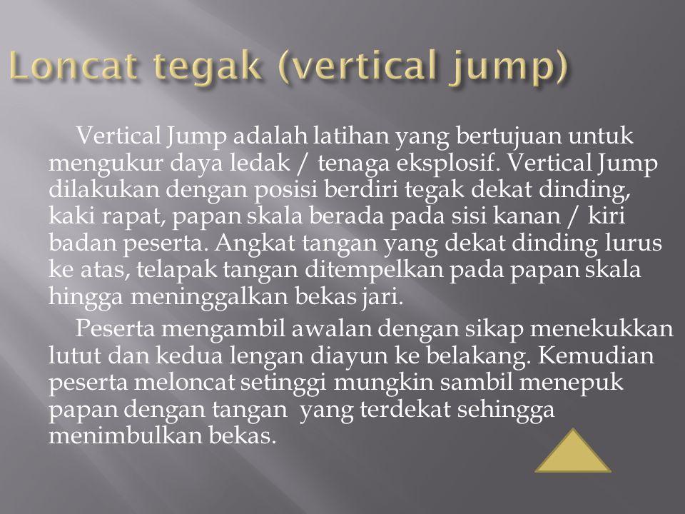 Loncat tegak (vertical jump)