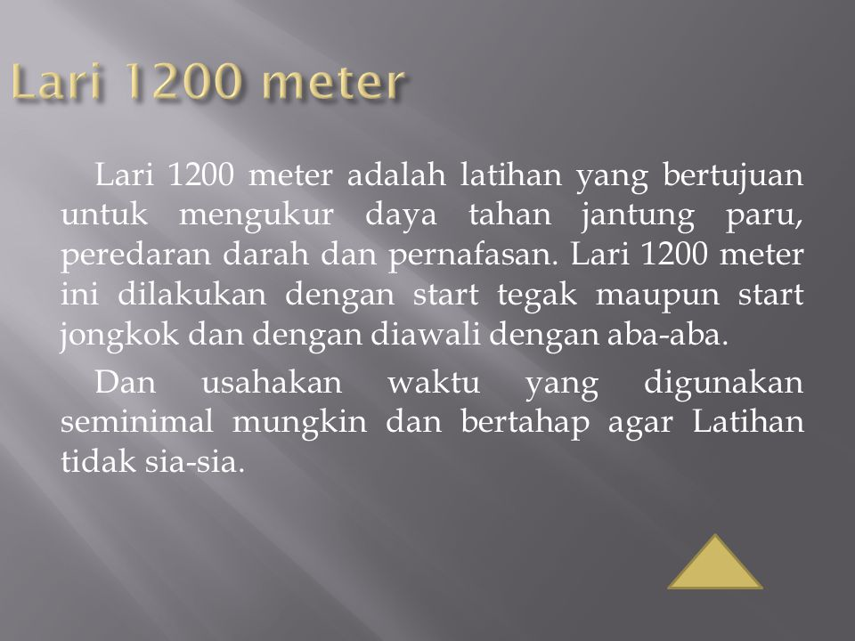 Lari 1200 meter