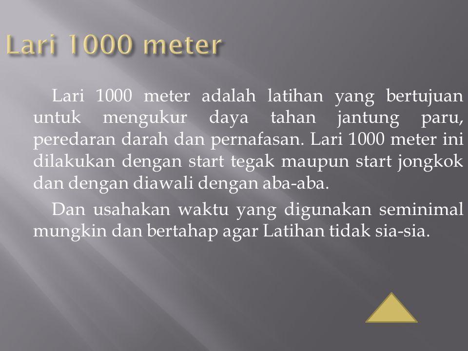 Lari 1000 meter