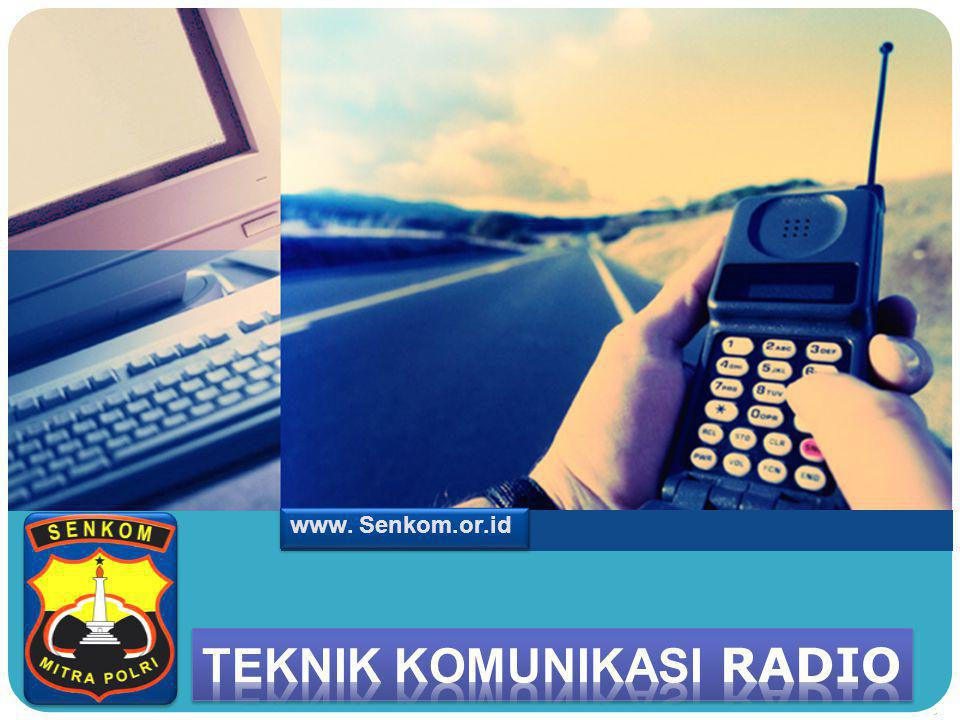 Teknik komunikasi radio