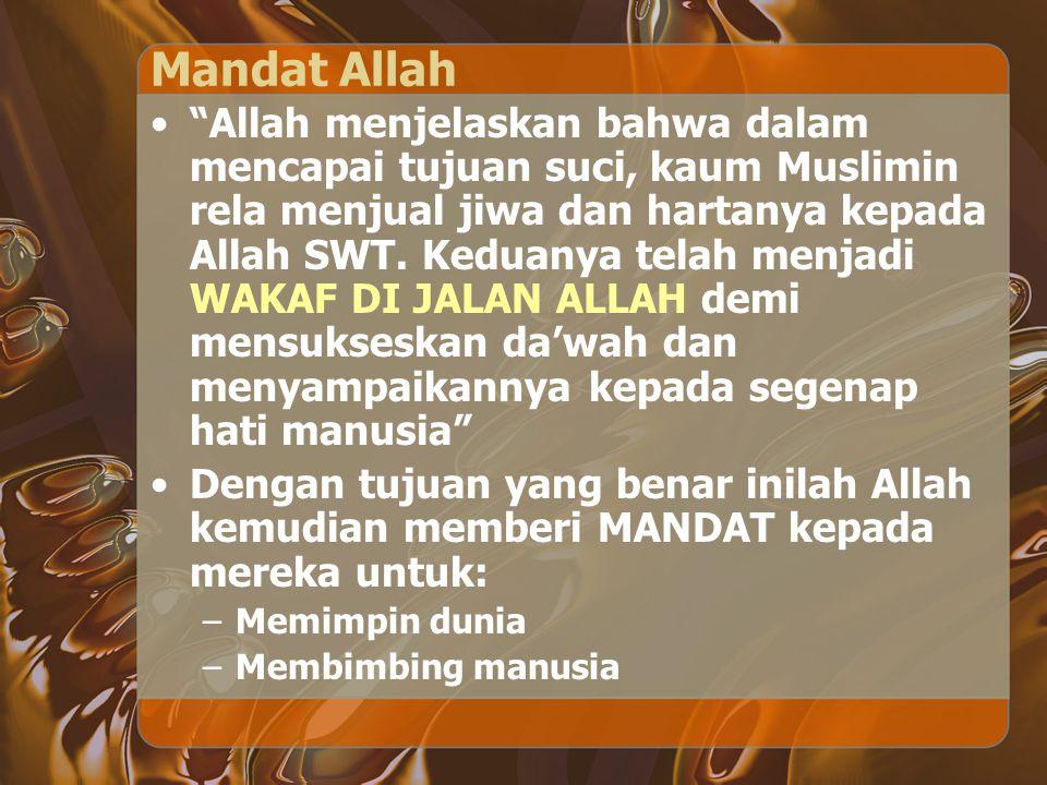 Mandat Allah