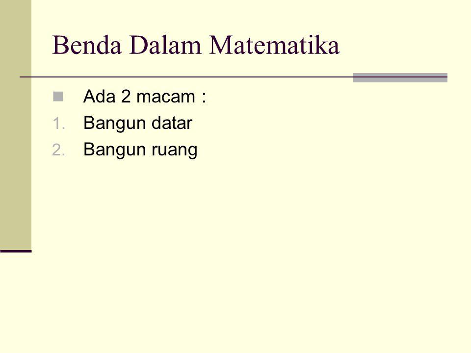 Benda Dalam Matematika