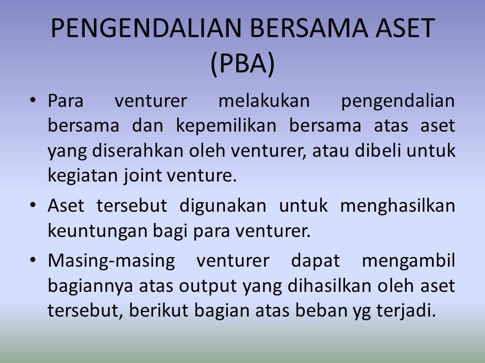 PENGENDALIAN BERSAMA ASET (PBA)