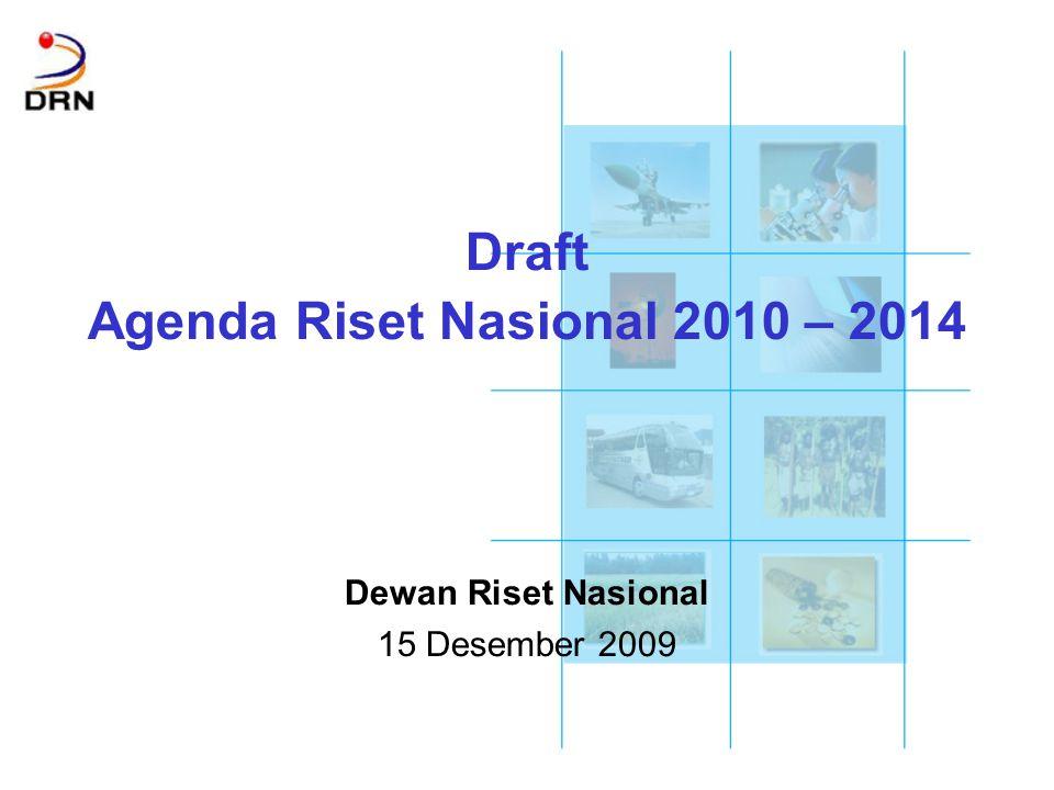 Agenda Riset Nasional 2010 – 2014