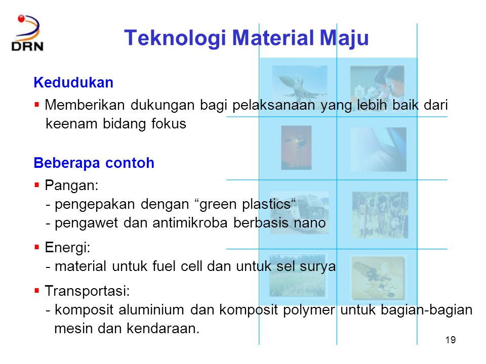 Teknologi Material Maju