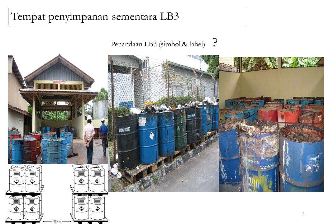 Tempat penyimpanan sementara LB3
