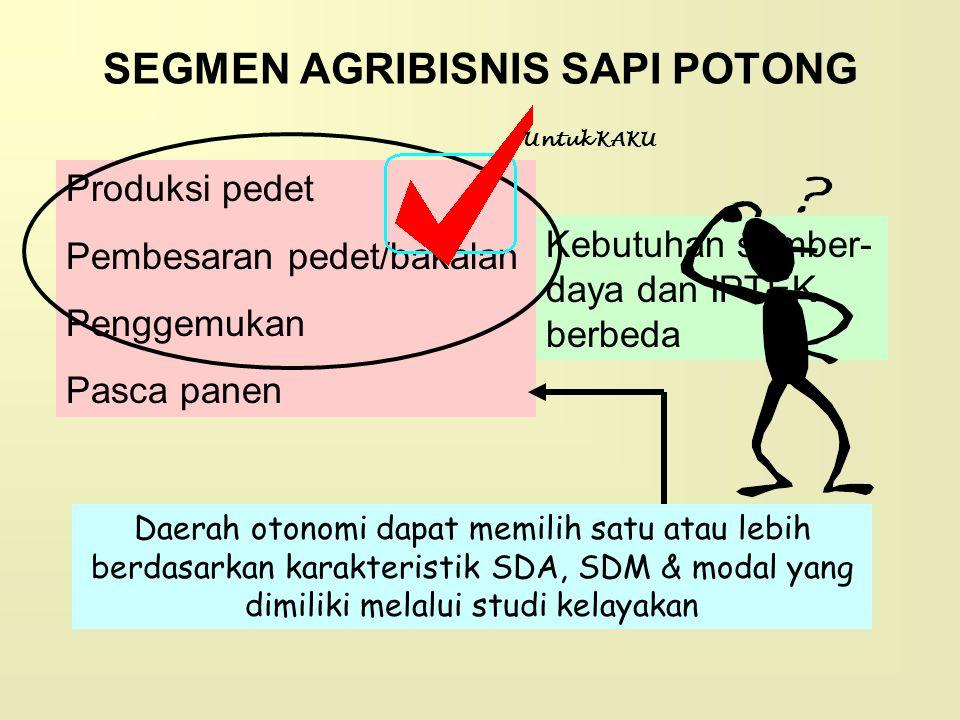SEGMEN AGRIBISNIS SAPI POTONG