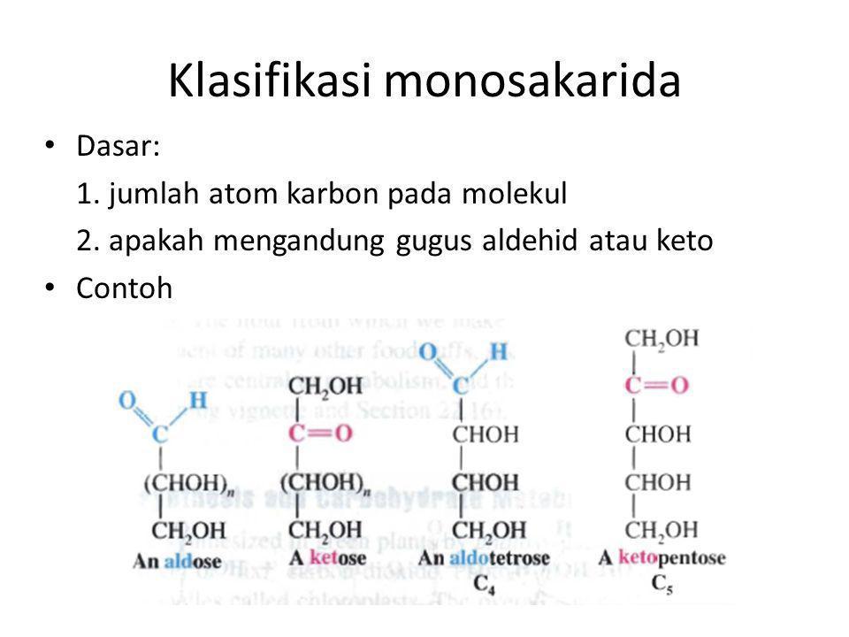 Klasifikasi monosakarida