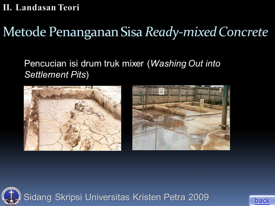 Metode Penanganan Sisa Ready-mixed Concrete