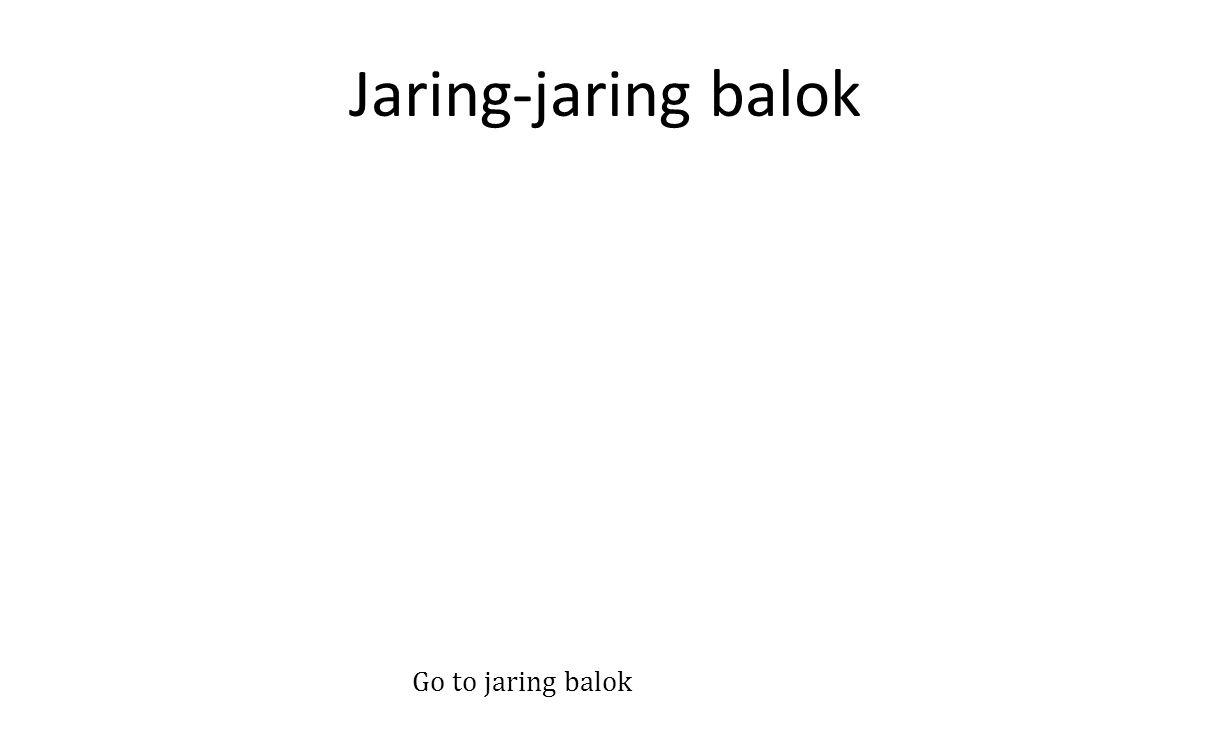 Jaring-jaring balok Go to jaring balok