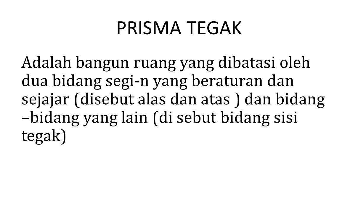 PRISMA TEGAK