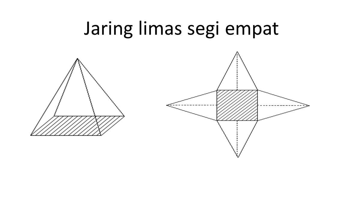 Jaring limas segi empat