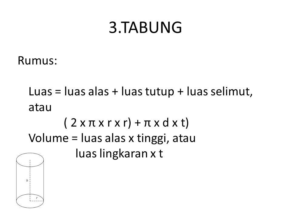 3.TABUNG