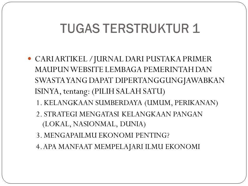 TUGAS TERSTRUKTUR 1