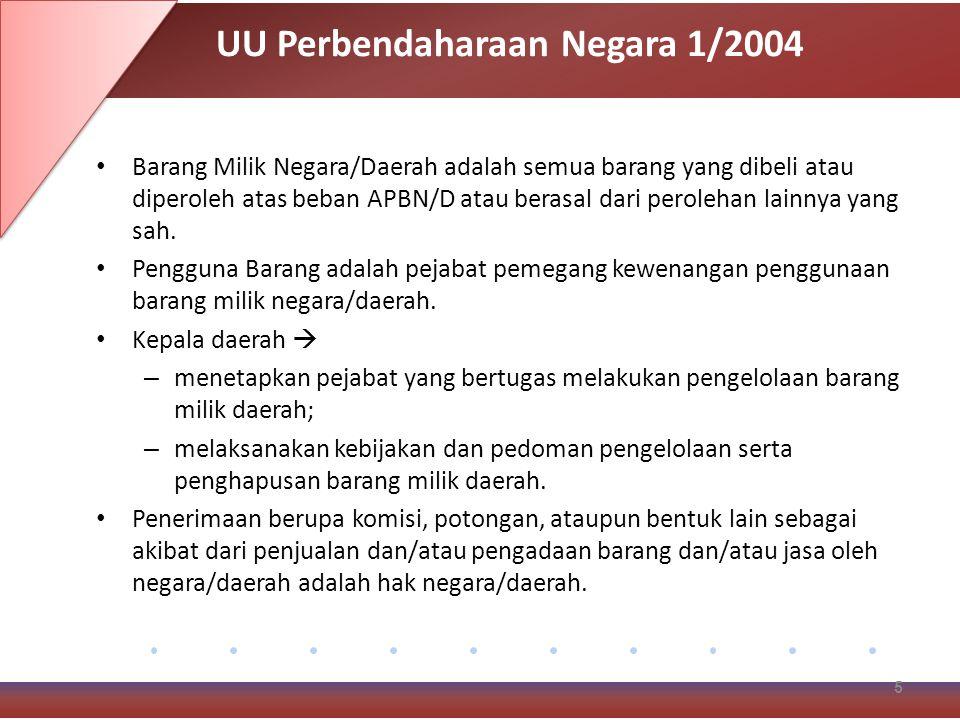 UU Perbendaharaan Negara 1/2004