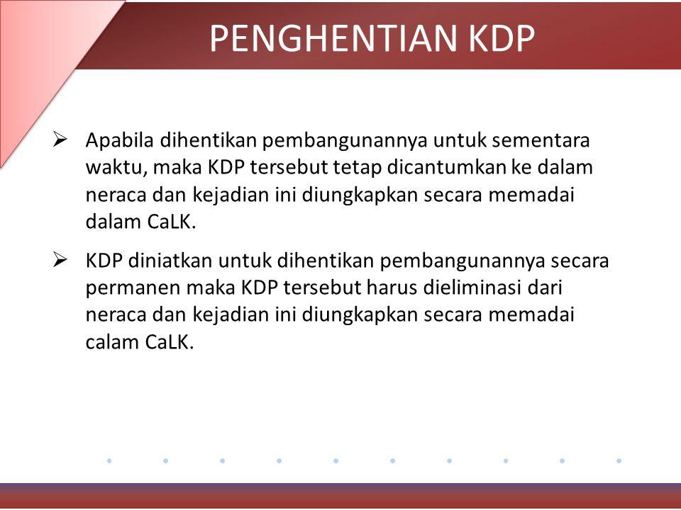 PENGHENTIAN KDP