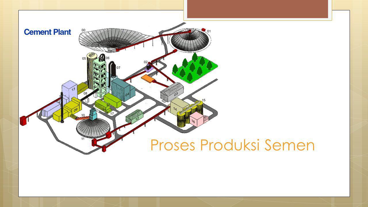 Proses Produksi Semen