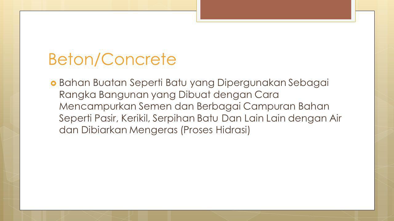 Beton/Concrete
