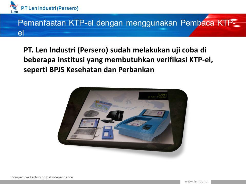 Pemanfaatan KTP-el dengan menggunakan Pembaca KTP-el